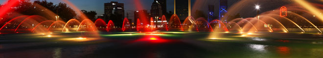 Friendship Fountain - Night