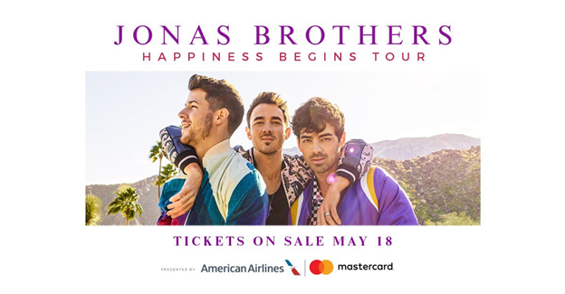 Jonas Brothers Add Jacksonville Stop to Happiness Begins Tour
