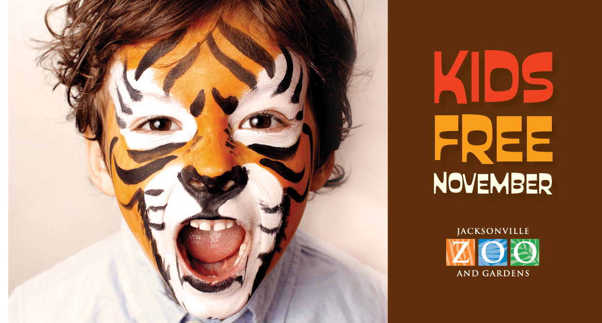 Jacksonville Zoo Prices Halloween 2020 Kids are free in November at the Jacksonville Zoo