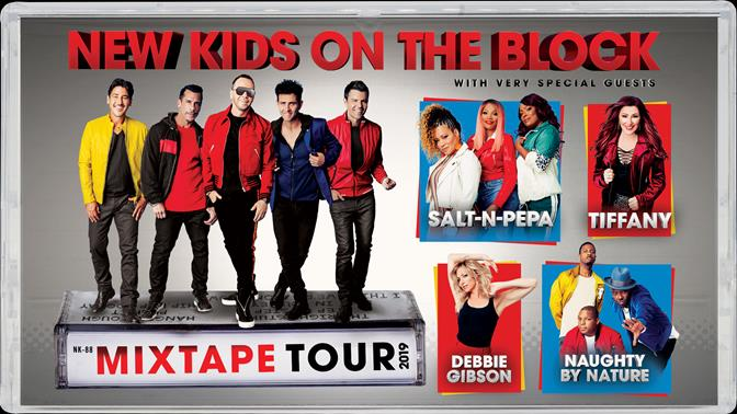 New Kids On The Block Announce The Mixtape Tour