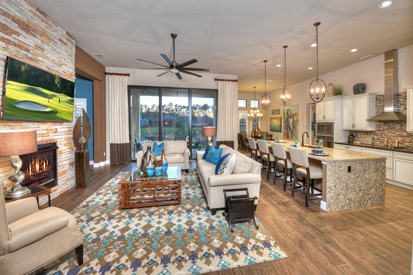 New Ici Model Homes Underway At Amelia National Gold